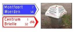 sign motorized and non motorized traffic