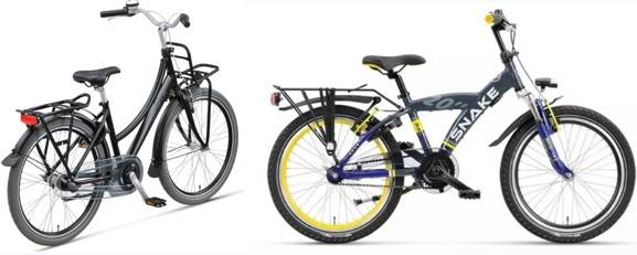 child frame sizes bikes