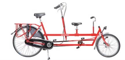 adult child tandem bike