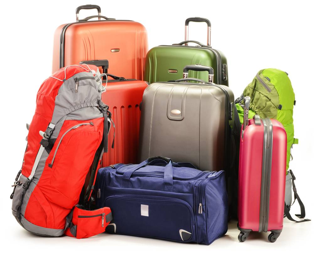 Luggage consisting of large suitcases, b